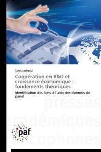 Coop ration En R D Et Croissance  conomique