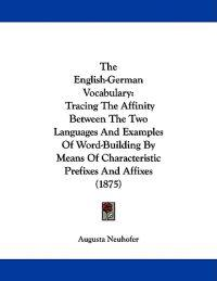 The English-german Vocabulary