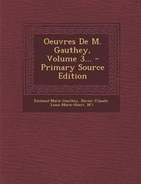 Oeuvres De M. Gauthey, Volume 3...