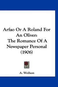 Arfao or a Roland for an Oliver