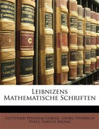 Leibnizens Mathematische Schriften, Band I, Ertse Abtheilung