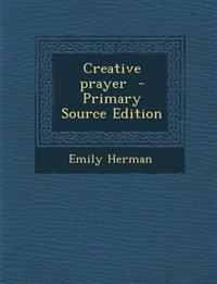Creative prayer