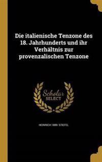 GER-ITALIENISCHE TENZONE DES 1