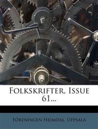 Folkskrifter, Issue 61...