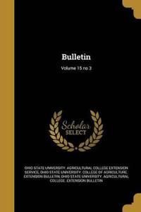 BULLETIN V15 NO 3