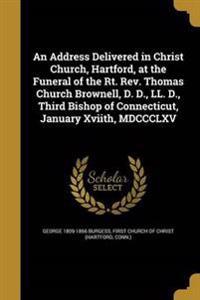 ADDRESS DELIVERED IN CHRIST CH