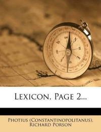 Lexicon, Page 2...