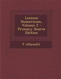 Lexicon Homericum, Volume 2