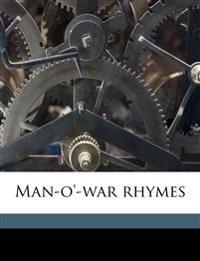 Man-o'-war rhymes