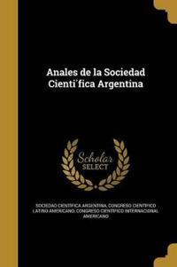 SPA-ANALES DE LA SOCIEDAD CIEN