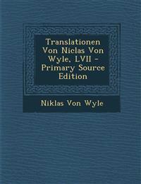 Translationen Von Niclas Von Wyle, LVII