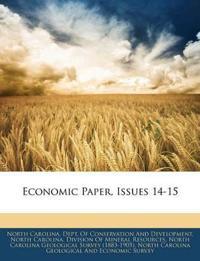 Economic Paper, Issues 14-15