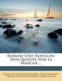 Romane Und Novellen: Don Quixote Von La Mancha ...