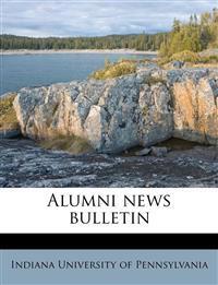 Alumni news bulletin