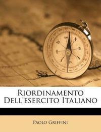 Riordinamento Dell'esercito Italiano