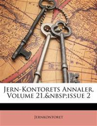 Jern-Kontorets Annaler, Volume 21, issue 2