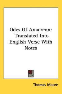 Odes of Anacreon