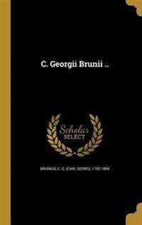 ITA-C GEORGII BRUNII