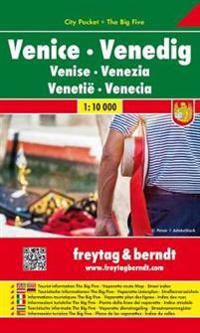 Venedig 1 : 10 000 City Pocket + The Big Five