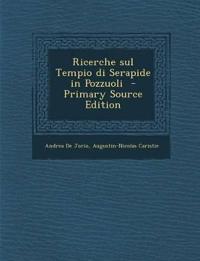 Ricerche sul Tempio di Serapide in Pozzuoli