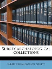 Surrey archaeological collections Volume 21-38