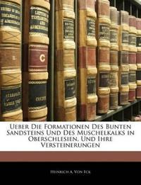 Ueber Die Formationen Des Bunten Sandsteins Und Des Muschelkalks in Oberschlesien, Und Ihre Versteinerungen