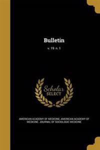 BULLETIN V 19 N 1