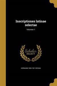 LAT-INSCRIPTIONES LATINAE SELE