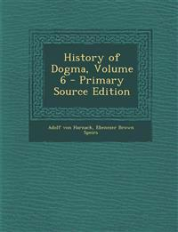 History of Dogma, Volume 6