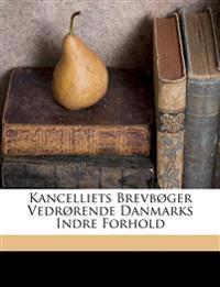 Kancelliets Brevbøger vedrørende Danmarks indre Forhold