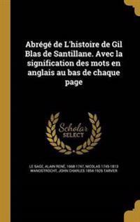 FRE-ABREGE DE LHISTOIRE DE GIL
