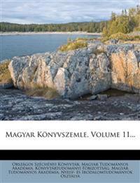 Magyar Konyvszemle, Volume 11...