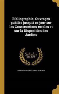 FRE-BIBLIOGRAPHIE OUVRAGES PUB