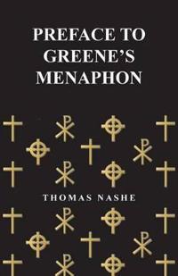 Preface to Greene's Menaphon