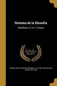 SPA-SISTEMA DE LA FILOSOFIA