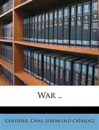 War ..