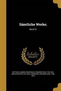 GER-SAMTLICHE WERKE BAND 15