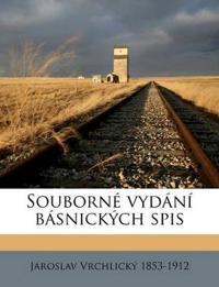 Souborné vydání básnických spis Volume 55