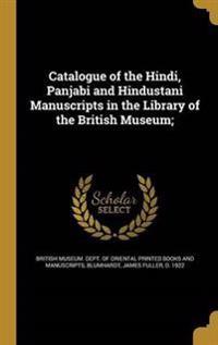 CATALOGUE OF THE HINDI PANJABI