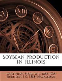 Soybean production in Illinois