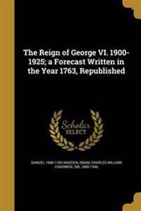 REIGN OF GEORGE VI 1900-1925 A