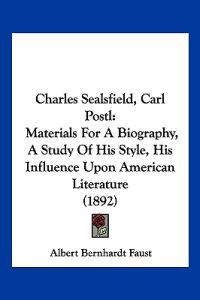 Charles Sealsfield, Carl Postl