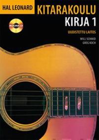 Hal Leonard kitarakoulu 1 (+cd)