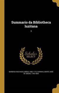 POR-SUMMARIO DA BIBLIOTHECA LU