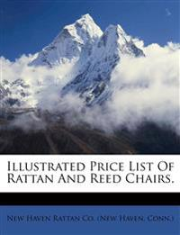 Illustrated Price List Of Rattan And Reed Chairs.
