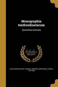 LAT-MONOGRAPHIA TENTHREDINETAR
