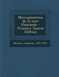 Microplankton de la mer Flamande