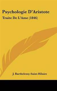 Psychologie D'aristote