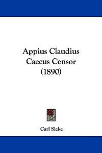 Appius Claudius Caecus Censor
