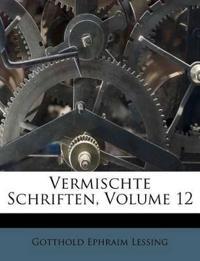 Vermischte Schriften, Volume 12